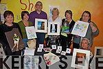 CRAFT FAIR: Some of the participants getting their products ready for the forthcoming annual Arts and Crafts Fair in Ballybunion on November 1st, l-r: Noreen Keane, Patsy Gleeson, Steve Shaltz, Mary O'Gorman, Mary O'Sullivan, Josephine Kennelly, Mary Allen.