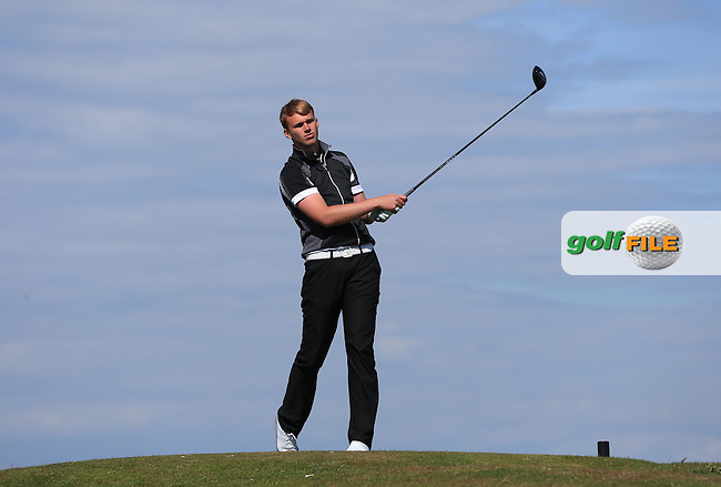 Ryan Brooks during Round Two of the West of England Championship 2016, at Royal North Devon Golf Club, Westward Ho!, Devon  23/04/2016. Picture: Golffile | David Lloyd<br /> <br /> All photos usage must carry mandatory copyright credit (&copy; Golffile | David Lloyd)