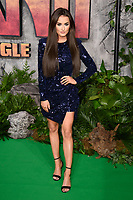 Amber Davies<br /> arriving for the &quot;Jumanji: Welcome to the Jungle&quot; premiere at the Vue West End, Leicester Square, London<br /> <br /> <br /> &copy;Ash Knotek  D3358  07/12/2017