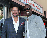LOS ANGELES - MAR 25:  Jon Huertas, Sterling K Brown at the Mandy Moore Star Ceremony on the Hollywood Walk of Fame on March 25, 2019 in Los Angeles, CA