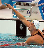 Alain Bernard, Men's 100m Freestyle .National Aquatics Centre Nuoto.Pechino - Beijing 13/8/2008 Olimpiadi 2008 Olympic Games.Foto Andrea Staccioli Insidefoto