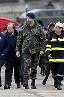 "Prince Felipe of Spain during exercise ""GAMMA PALAZUELOS 2013"" of theMIlitary Unit of Emergency (UME).March 11 ,2013. (ALTERPHOTOS/Acero) /NortePhoto"