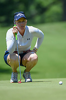 Morgan Pressel (USA) lines up her putt on 12 during round 2 of the 2018 KPMG Women's PGA Championship, Kemper Lakes Golf Club, at Kildeer, Illinois, USA. 6/29/2018.<br /> Picture: Golffile | Ken Murray<br /> <br /> All photo usage must carry mandatory copyright credit (© Golffile | Ken Murray)