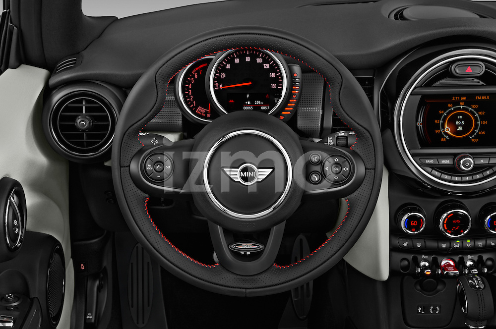 Car pictures of steering wheel view of a 2016 MINI Cooper - 2 Door Convertible Steering Wheel