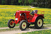 Gerhard, MASCULIN, antique cars, oldtimers, photos, red trac., meadow(DTMB140-87,#M#)