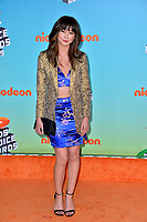 LOS ANGELES, CA. March 23, 2019: Kimiko Glenn at Nickelodeon's Kids' Choice Awards 2019 at USC's Galen Center.<br /> Picture: Paul Smith/Featureflash