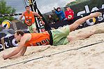 09.05.2015, Muenster, Schlossplatz<br /> smart beach tour, Supercup MŸnster / Muenster, Hauptfeld<br /> <br /> Abwehr Marcus Popp<br /> <br />   Foto &copy; nordphoto / Kurth