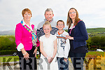 Mary Quillinan,Ken Quillinan,Chloe Quillinan,Keith Quillinan and Jackie Quillinan at the CBS Primary School Staff & Students Fashion Show at Ballyroe Heights Hotel on Thursday