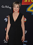 "Annie Potts 001 arrives at the premiere of Disney and Pixar's ""Toy Story 4"" on June 11, 2019 in Los Angeles, California."