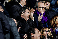 Matteo Renzi<br /> Firenze 01-12-2018 Stadio Artemio Franchi<br /> Football Calcio Campionato Serie A<br /> 2018/2019 <br /> Fiorentina - Juventus<br /> Foto Antonietta Baldassarre / Insidefoto