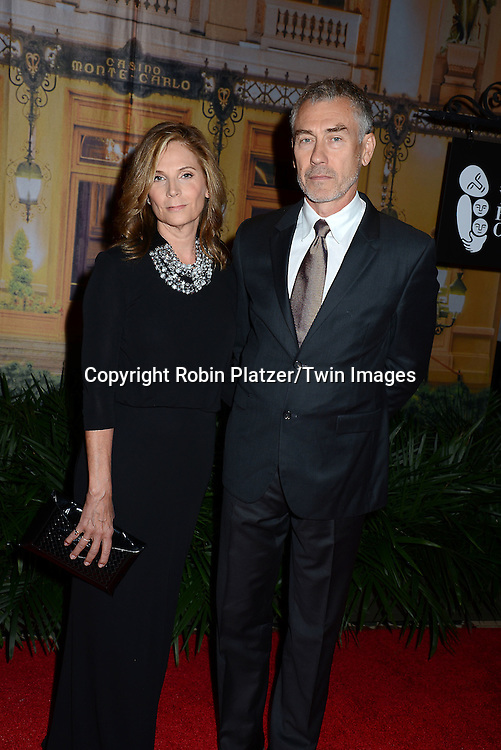 Susan Gilroy and husband Tony Gilroy attend the New Yorkers for Children's Fall Gala on September 16, 2015 at Cipriani 42nd Street in New York City, New York, USA.<br /> <br /> photo by Robin Platzer/Twin Images<br />  <br /> phone number 212-935-0770