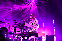 LONDON, ENGLAND - MAY 15: Sorcha Durham of 'Walking On Cars' performing at Shepherd's Bush Empire on May 15, 2019 in London, England.<br /> CAP/MAR<br /> ©MAR/Capital Pictures