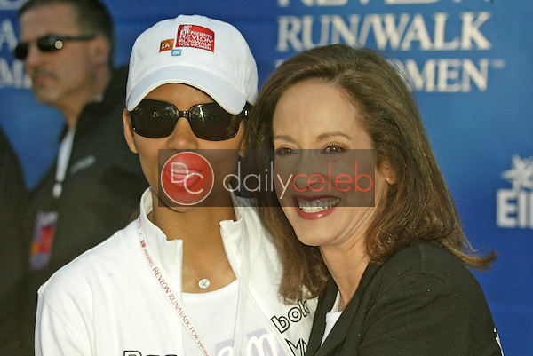 Halle Berry and Lilly Tartikoff<br />