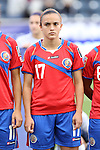 24 October 2014: Melissa Herrera (CRC). The Costa Rica Women's National Team played the Trinidad & Tobago Women's National Team at PPL Park in Chester, Pennsylvania in a 2014 CONCACAF Women's Championship semifinal game, which serves as a qualifying tournament for the 2015 FIFA Women's World Cup in Canada. Costa Rica advanced to the championship game, and qualified for next year's Women's World Cup, by winning the penalty shootout 3-0 after the game ended in a 1-1 tie after double overtime.