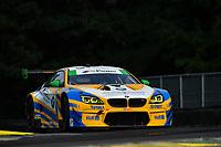 IMSA WeatherTech SportsCar Championship<br /> Michelin GT Challenge at VIR<br /> Virginia International Raceway, Alton, VA USA<br /> Friday 25 August 2017<br /> 96, BMW, BMW M6 GT3, GTD, Jesse Krohn, Jens Klingmann<br /> World Copyright: Richard Dole<br /> LAT Images<br /> ref: Digital Image RD_VIR_17_093