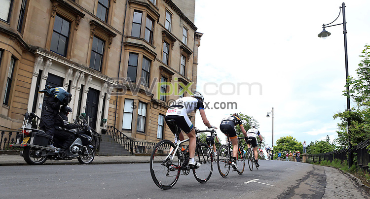 PICTURE BY VAUGHN RIDLEY/SWPIX.COM - Cycling - 2013 British Cycling National Road Race Championships - Glasgow, Scotland - 23/06/13 - Hannah Walker of Matrix Fitness Racing.