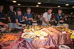 Celebration dinner at the conclusion of the HKFC Citi Soccer Sevens 2017 on 28 May 2017 at the Hong Kong Football Club, Hong Kong, China. Photo by Marcio Rodrigo Machado / Power Sport Images