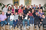 50TH BIRTHDAY: Tom O'Connor, Caheranne Village (seated 3rd left) enjoying a great time celebrating his 50th birthday with family and friends at Kerins O'Rahilly clubhouse on Saturday.   Copyright Kerry's Eye 2008
