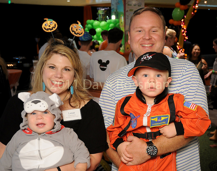 Lanae and Thomas Fowler with Payne and Wyatt at the Little Galleria Halloween Spooktacular presented by MD Anderson Children's Cancer Hospital at The Galleria Sunday Oct. 30,2016.(Dave Rossman photo)