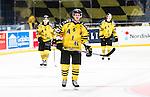 Stockholm 2014-11-16 Ishockey Hockeyallsvenskan AIK - IF Bj&ouml;rkl&ouml;ven :  <br /> AIK:s Jordan Hendry deppar med lagkamrater efter matchen mellan AIK och IF Bj&ouml;rkl&ouml;ven  <br /> (Foto: Kenta J&ouml;nsson) Nyckelord:  AIK Gnaget Hockeyallsvenskan Allsvenskan Hovet Johanneshov Isstadion Bj&ouml;rkl&ouml;ven L&ouml;ven IFB depp besviken besvikelse sorg ledsen deppig nedst&auml;md uppgiven sad disappointment disappointed dejected