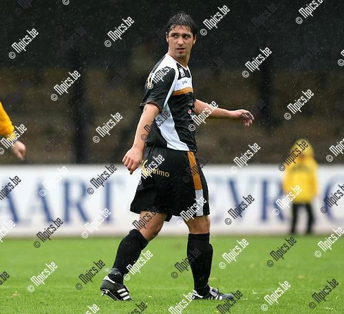 2008-10-05 / Voetbal / Berchem Sport - Verbr. Meldert / Gregory Deraeve..Foto: Maarten Straetemans (SMB)