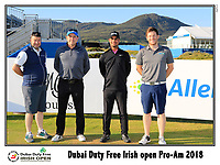 Shubankar Sharma (IND) team on the 10th tee during Wednesday's Pro-Am of the 2018 Dubai Duty Free Irish Open, held at Ballyliffin Golf Club, Ireland. 4th July 2018.<br /> Picture: Eoin Clarke | Golffile<br /> <br /> <br /> All photos usage must carry mandatory copyright credit (&copy; Golffile | Eoin Clarke)