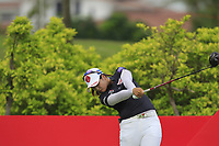 Hyejin Choi (KOR) in action on the 6th during Round 2 of the HSBC Womens Champions 2018 at Sentosa Golf Club on the Friday 2nd March 2018.<br /> Picture:  Thos Caffrey / www.golffile.ie<br /> <br /> All photo usage must carry mandatory copyright credit (&copy; Golffile | Thos Caffrey)