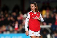 Lia Walti of Arsenal during Arsenal Women vs Bristol City Women, Barclays FA Women's Super League Football at Meadow Park on 1st December 2019