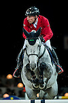 Hans-Dieter Dreher of Germany riding Cool And Easy in action during the Gucci Gold Cup as part of the Longines Hong Kong Masters on 14 February 2015, at the Asia World Expo, outskirts Hong Kong, China. Photo by Johanna Frank / Power Sport Images