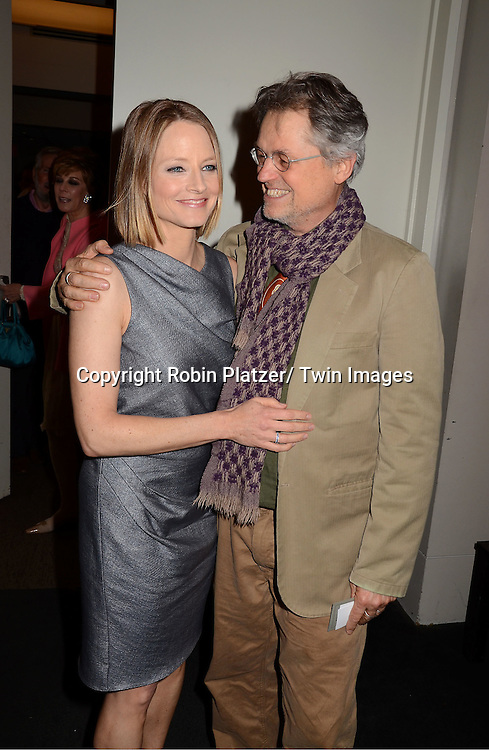 "Jodie Foster and Jonathan Demme attending the special screening of ""The Beaver"" on     May 4, 2011 at The Walter Reade Theatre in New York City. Jodie Foster is the director and the star of the movie."