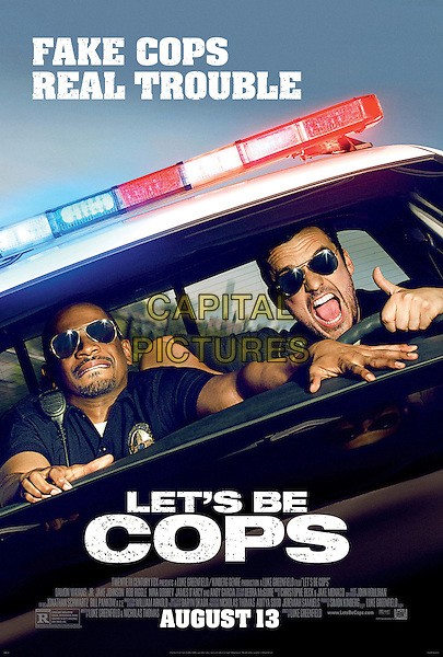 POSTER ART<br /> in Let's Be Cops (2014) <br /> *Filmstill - Editorial Use Only*<br /> CAP/FB<br /> Image supplied by Capital Pictures