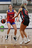 The Central Coast Crusaders play Maitland Mustangs in Round 3 of the Basketball NSW Waratah 1 Youth Women at Breakers Stadium on 25th of July, 2020 in Terrigal, NSW Australia. (Photo by Paul Barkley/LookPro)
