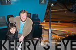 PERFORMANCE: Piano soloist Santa Ignace and conductor Aidan O'Carroll are preparing for the Kerry Symphony Orchestra Inaugural Concert this Sunday 27th of January in Siamsa Tire.   Copyright Kerry's Eye 2008