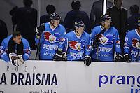 IJSHOCKEY: LEEUWARDEN: 04-10-2015, Elfstedenhal, UNIS Flyers - Olympia Heist, 8-1, uitslag ©foto Martin de Jong