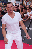 08.08.2012. Premier at the Callao Cinema in Madrid of the film &acute;The Expendables 2&acute;. Directed by Simon West and starring by  Bruce Willis, Jean-Claude Van Damme , Sylvester Stallone, Jason Statham, Jet Li, Dolph Lundgren, Randy Couture, Terry Crews and Liam Hemsworth. In the image Jean-Claude Van Damme (Alterphotos/Marta Gonzalez) NortePhoto.com<br />