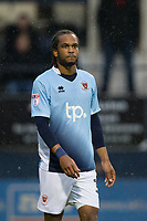 Blackpool's Nathan Delfouneso<br /> <br /> Photographer Craig Mercer/CameraSport<br /> <br /> The EFL Sky Bet League Two Play-Off Semi Final Second Leg - Luton Town v Blackpool - Thursday 18th May 2017 - Kenilworth Road - Luton<br /> <br /> World Copyright &copy; 2017 CameraSport. All rights reserved. 43 Linden Ave. Countesthorpe. Leicester. England. LE8 5PG - Tel: +44 (0) 116 277 4147 - admin@camerasport.com - www.camerasport.com