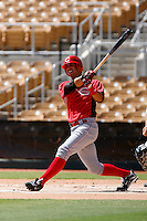 Neftali Soto - Cincinnati Reds 2009 Instructional League. .Photo by:  Bill Mitchell/Four Seam Images..