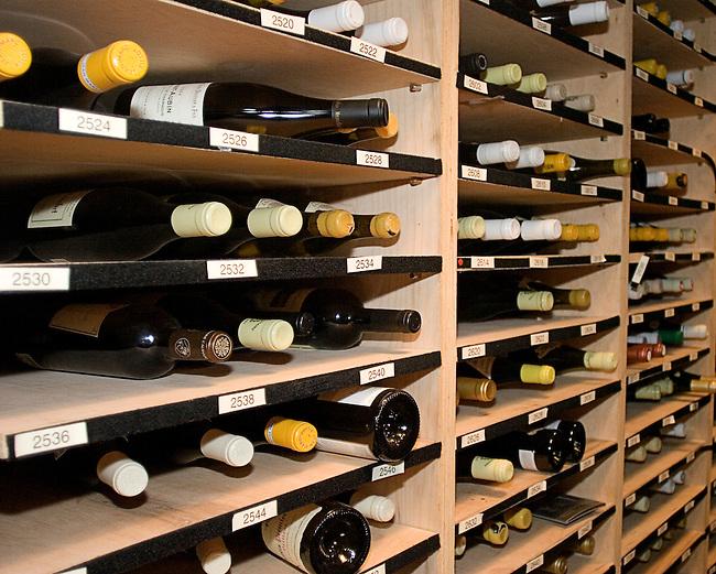 Wine Cellar, Cru Restaurant,New York, New York
