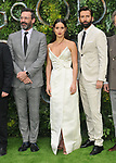 """Jon Hamm, Adria Arjona, David Tennant at the """"Good Omens"""" UK TV premiere, Odeon Luxe Leicester Square, Leicester Square, London, England, UK, on Tuesday 28th May 2019.<br /> CAP/CAN<br /> ©CAN/Capital Pictures"""