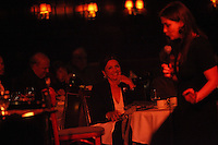 NEW YORK - APRIL 29: Cabaret Singer Maude Maggart performs at The Oak Room at The Algonquin Hotel on Thursday, April 29, 2010 in New York City. Maggart is accompanied by piano player John Boswell. (Photo by Landon Nordeman)