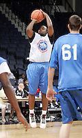 PG Junior Cadougan (Humble, TX / Christian Life) shoots the ball during the NBA Top 100 Camp held Saturday June 23, 2007 at the John Paul Jones arena in Charlottesville, Va. (Photo/Andrew Shurtleff)