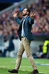 Coach Pablo Machin Diez of Girona FC reacts during the La Liga 2017-18 match between Atletico de Madrid and Girona FC at Wanda Metropolitano on 20 January 2018 in Madrid, Spain. Photo by Diego Gonzalez / Power Sport Images