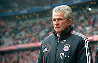 FUSSBALL   1. BUNDESLIGA  SAISON 2012/2013   23. Spieltag FC Bayern Muenchen - SV Werder Bremen    23.02.2013  Trainer Jupp Heynckes (FC Bayern Muenchen)