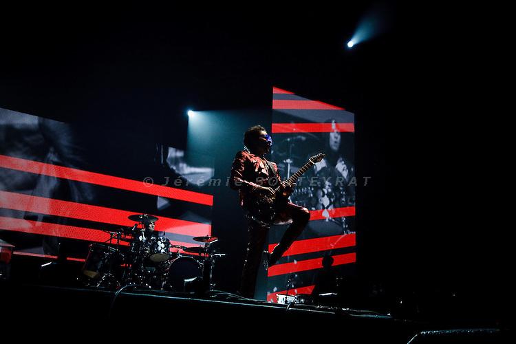 Fuji Rock Festival, Naeba Ski resort, Japan - July 30, 2010 - Muse live (Green stage), Matthew Bellamy