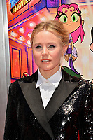 Kristen Bell at the premiere for &quot;Teen Titans Go! to the Movies&quot; at the TCL Chinese Theatre, Los Angeles, USA 22 July 2018<br /> Picture: Paul Smith/Featureflash/SilverHub 0208 004 5359 sales@silverhubmedia.com
