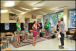 Stage di canto 'Vocal Groups' per Europa Cantat 2012, alla Scuola di Musica Mozart, nel Centro Interculturale di corso Taranto.