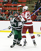 Nick Walsh (Dartmouth - 21), David Valek (Harvard - 22) - The Harvard University Crimson defeated the Dartmouth College Big Green 4-1 (EN) on Monday, January 18, 2010, at Bright Hockey Center in Cambridge, Massachusetts.