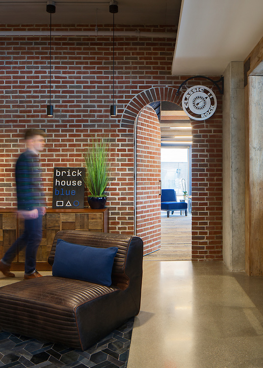 Brick House Blue | WSA Studio