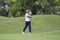 Hideto Tanihara (JPN) in actionon the 2nd fairway during Round 1 of the Maybank Championship at the Saujana Golf and Country Club in Kuala Lumpur on Thursday 1st February 2018.<br /> Picture:  Thos Caffrey / www.golffile.ie<br /> <br /> All photo usage must carry mandatory copyright credit (&copy; Golffile | Thos Caffrey)