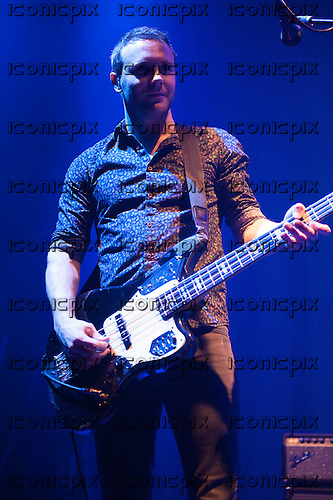 The Joy Formidable - bassist Rhydian Dafydd - performing live at The Roundhouse in London UK - 08 Mar 2013.  Photo credit: Justin Ng/Music Pics Ltd/IconicPix